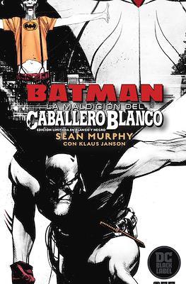 Batman: La maldición del caballero blanco - Edición limitada blanco y negro (Cartoné 272 pp)