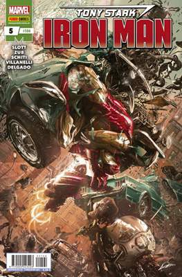 El Invencible Iron Man Vol. 2 (2011-) (Grapa - Rústica) #104/5