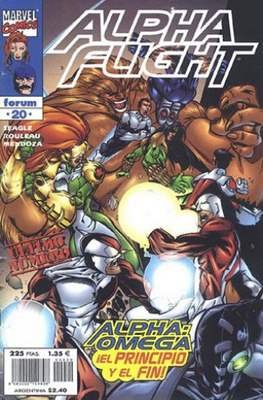 Alpha Flight Vol. 2 (1998-1999) (Grapa) #20