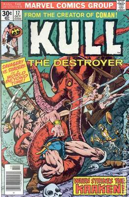 Kull the Conqueror / Kull the Destroyer (1971-1978) (comic-book) #17