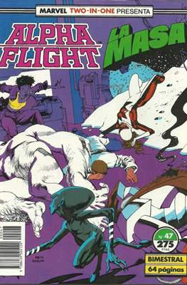 Alpha Flight vol. 1 / Marvel Two-in-one: Alpha Flight & La Masa vol.1 (1985-1992) (Grapa 32-64 pp) #47
