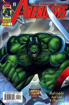 The Avengers Vol. 2 Heroes Reborn (1996-1997) (Comic Book) #4