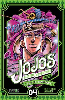 JoJo's Bizarre Adventure - Part II: Battle Tendency (Rústica con sobrecubierta) #4