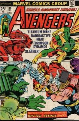 The Avengers Vol. 1 (1963-1996) (Comic Book) #130