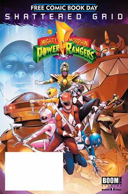 Power Rangers - Free Comic Book Day 2018