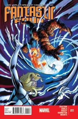 Fantastic Four Vol. 4 (Comic Book) #11