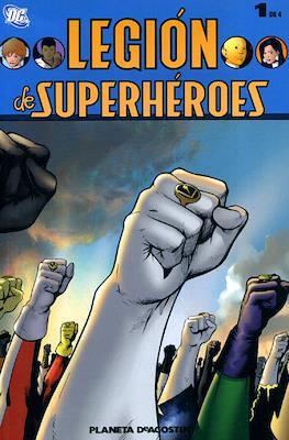 Legión de Superhéroes (Rústica, 168-128-96-96 pp) #1