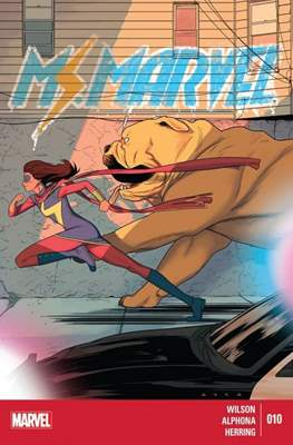 Ms. Marvel (Vol. 3 2014-2015) (Grapa) #10