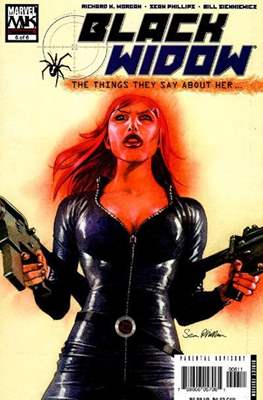 Black Widow: The Things They Say About Her (Comic Book) #6