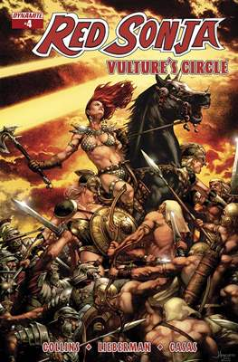 Red Sonja: Vulture's Circle (Comic Book) #4