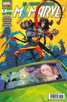 La Magnífica Ms. Marvel (2019-) (Grapa 24 pp) #7