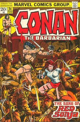Conan The Barbarian (1970-1993) (Grapa, 32 págs.) #24