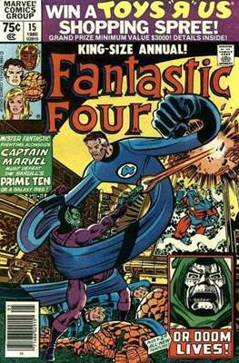 Fantastic Four Annual (Comic Book.) #15