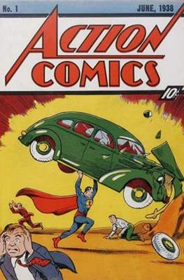 Action Comics Vol. 1 (1938-2011; 2016-) (Comic Book) #1