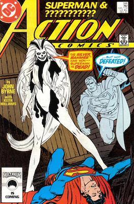 Action Comics Vol. 1 (1938-2011; 2016-) (Comic Book) #595