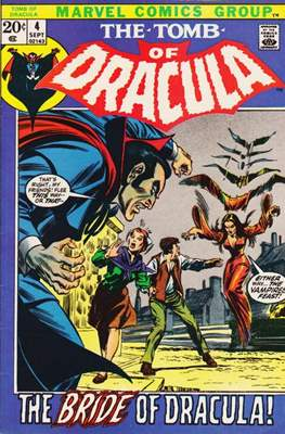 The Tomb of Dracula Vol. 1 (1972-1979) #4