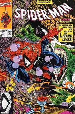 Spider-Man (Vol. 1 1990-2000) (Comic Book) #4