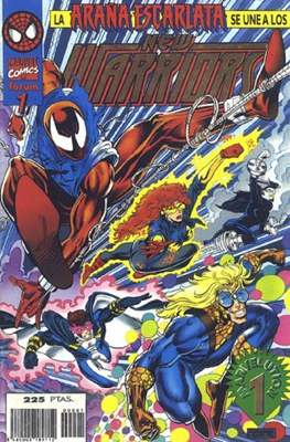 The New Warriors vol. 3 (1996-1997) (Grapa. 17x26. 24 páginas. Color.) #1