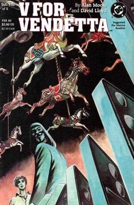 V for Vendetta (Comic Book) #8