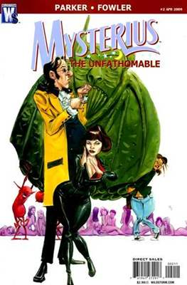 Mysterius the Unfathomable (Comic Book) #2
