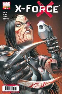 X-Force Vol. 3 (2008-2011) (Grapa, 24-48 pp) #18