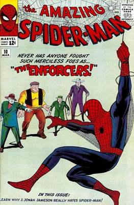 The Amazing Spider-Man Vol. 1 (1963-1998) #10