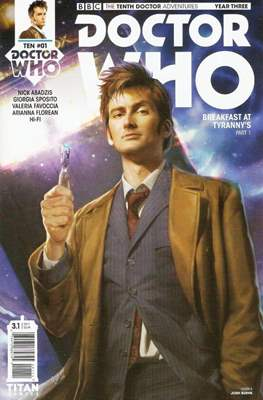 Doctor Who: The Tenth Doctor Adventures Year Three (Comic Book) #1