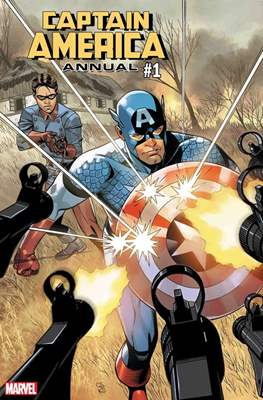 Captain America Annual 2018