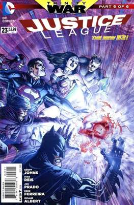 Justice League Vol. 2 (2011-2016) (Comic-Book) #23