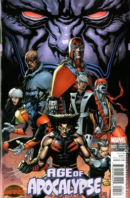 Age of Apocalypse - Secret Wars (Variant Cover) (Comic Book) #1.3
