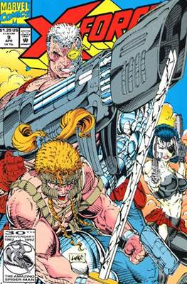 X-Force Vol. 1 (1991-2002) (Comic Book) #9