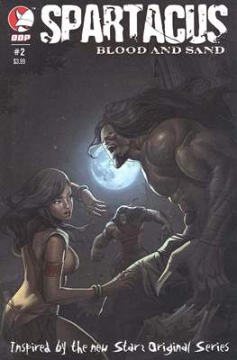 Spartacus Blood and Sand (Comic Book) #2