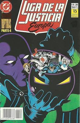 Liga de la Justicia Europa (1989-1992) (Grapa) #30