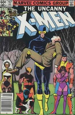The Uncanny X-Men (1963-2011) (Comic-Book) #167