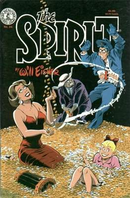 The Spirit (1983-1992) (Comic book. 32 pp) #24