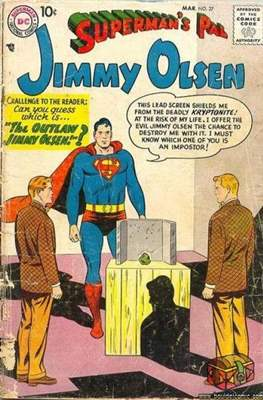 Superman's Pal, Jimmy Olsen / The Superman Family (Comic Book) #27