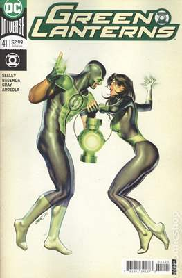 Green Lanterns (Vol. 1 2016-... Variant Covers) (Comic Book) #41