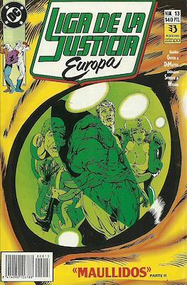 Liga de la Justicia Europa (1989-1992) (Grapa) #13