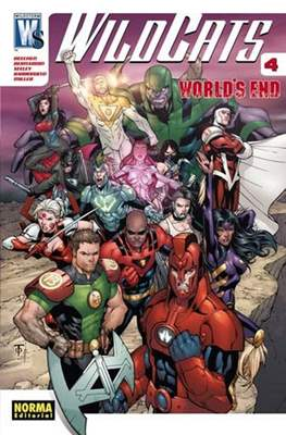 WildC.A.T.S. World's Ends #4
