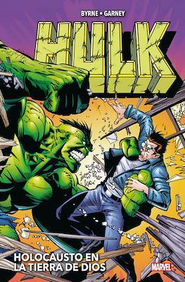 Hulk de John Byrne y Ron Garney Holocausto en la tierra de Dios - Marvel Omnibus (Cartoné 336 pp)