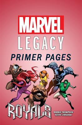 Royals: Marvel Legacy Primer Pages