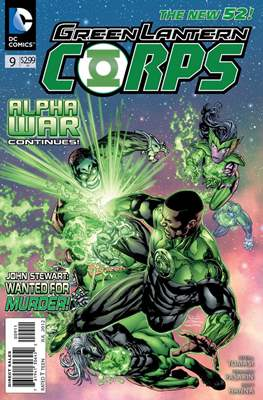 Green Lantern Corps Vol. 3 (2011-2015) #9