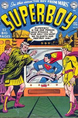 Superboy Vol.1 / Superboy and the Legion of Super-Heroes (Comic Book) #14