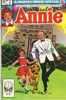Annie The Official Adaptation of the Hit Film! #2