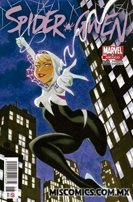 Spider-Gwen (2016-2019 Portada Variante)