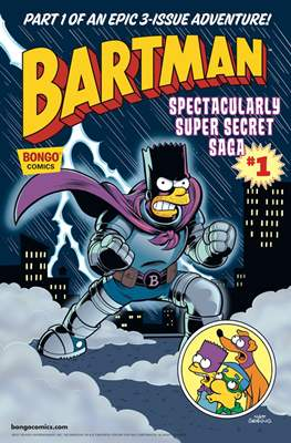 Bartman: Spectacularly Super Secret Saga