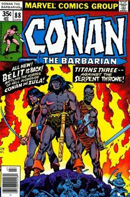 Conan The Barbarian (1970-1993) (Comic Book 32 pp) #88