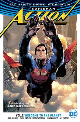 Superman: Action Comics Vol. 1 (2016) (Softcover) #2