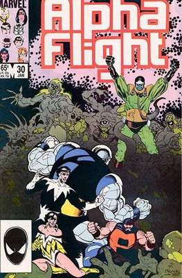 Alpha Flight Vol. 1 (1983-1994) (Comic Book) #30