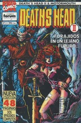 Death's Head II / Motormouth (1993-1994) (Grapa 48 pp) #3
